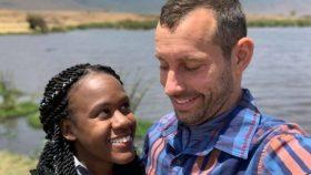Kenesha Antoine y Steven Weber estaban de vacaciones en Tanzania cuando ocurrió el accidente.